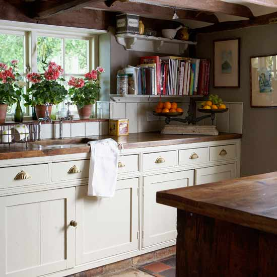 Modern Country Style Country Kitchen