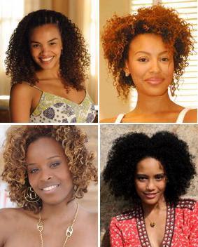 cortes para cabelos crespos e afros