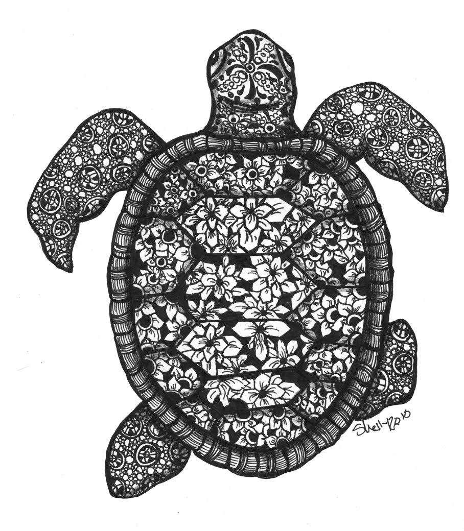 Turtle design - photo#8