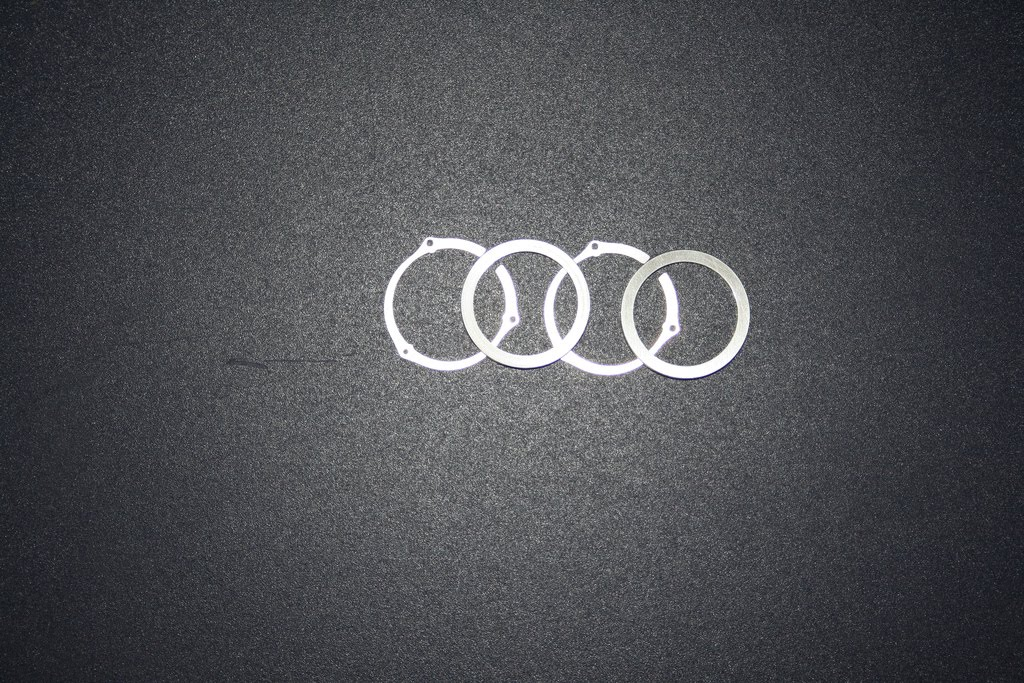 audi logo rings wallpaper