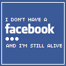 Anti Facebook funny quote for shirt