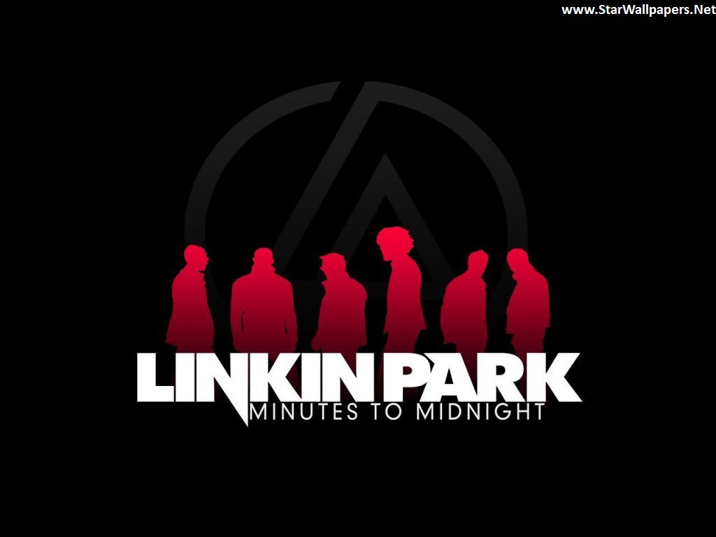 linkin park logo black and red
