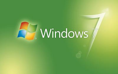 windows seven 7 logo wallpaper collection
