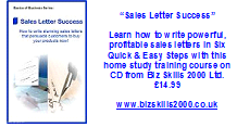 """Sales Letter Success"" CD Course"