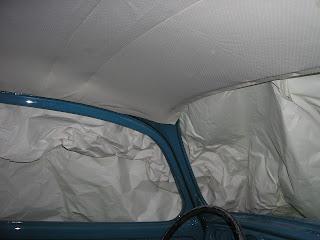 Restauracion escarabajo tapizado del techo - Materiales para tapizar ...