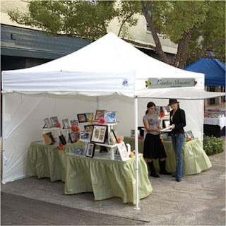 If you are serious about doing craft shows you will end up at some point needing a canopy. They are large cumbersome and can be annoying to lug around ... & The Craft Fair: Tips u0026 Tricks For A Smoother Day | Gramkin Paper ...