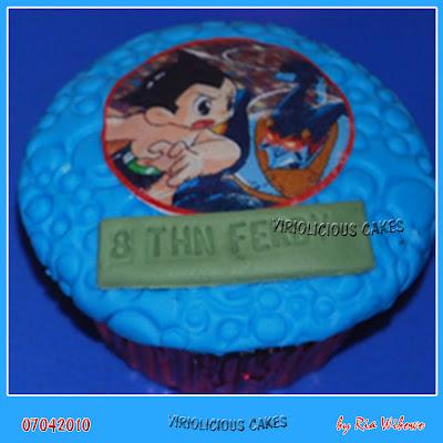 Astro Boy Cake