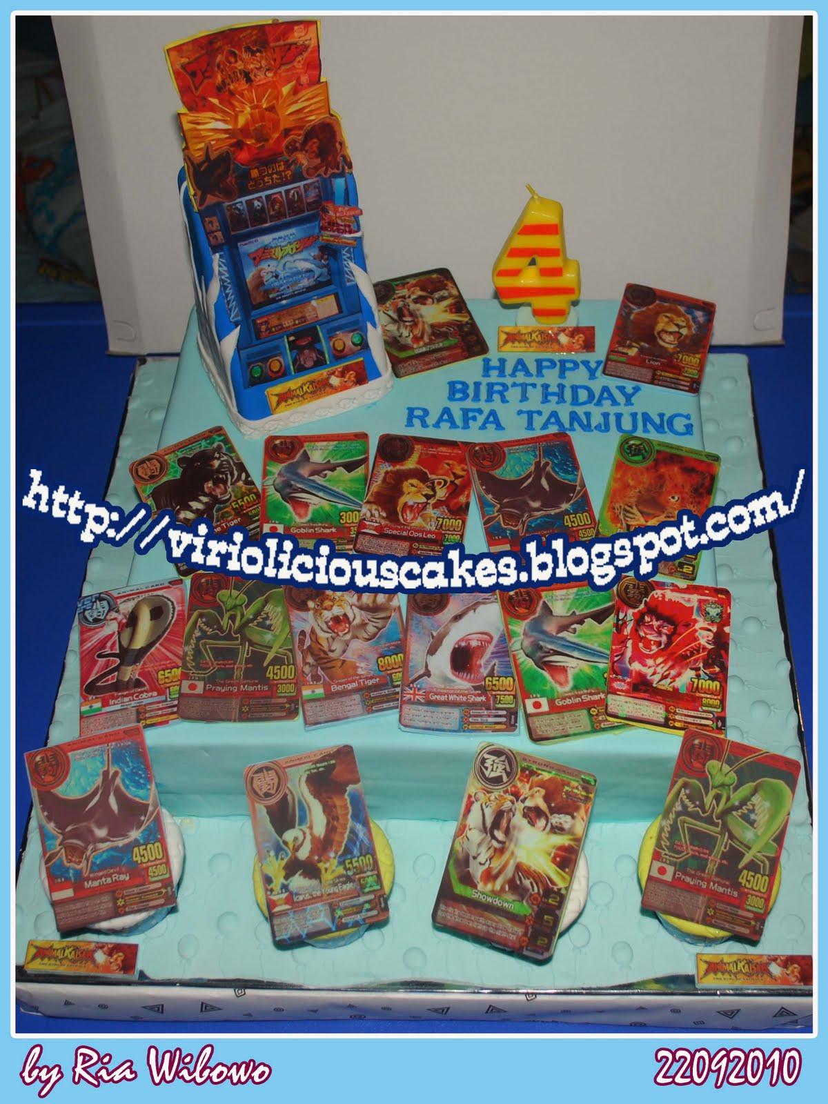 VIRIOLICIOUS CAKES ANOTHER CAKE FOR RAFA THE ANIMAL KAISER CAKE