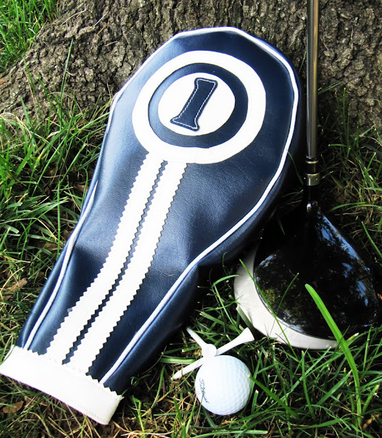 Snazzy Golf Club Headcovers for Dad by Positively Splendid