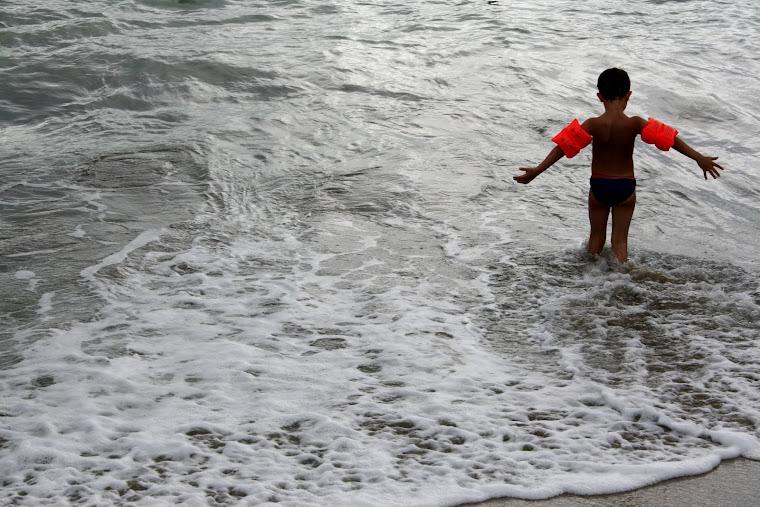Danseur des vagues.