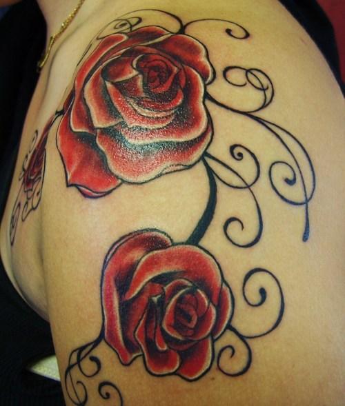 rose tattoos for men. rose tattoos designs for men.