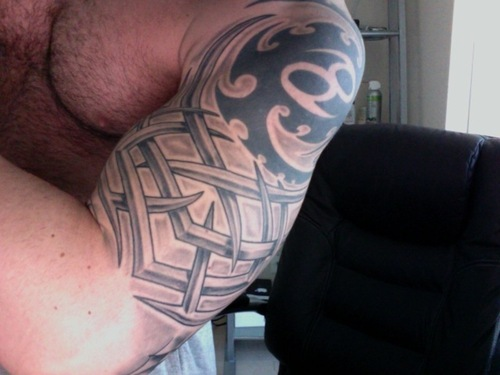 Tribal Shoulder Tattoo A Tribal Shoulder Tattoo is something that you have