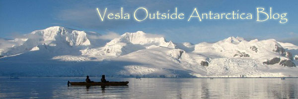 Vesla Outside Antarctica Blog