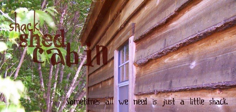 shack, shed, cabin