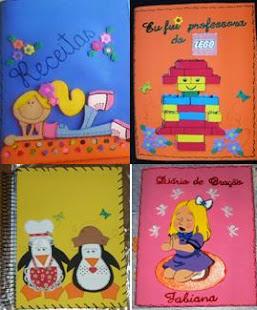 Capas de Cadernos