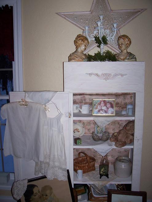 Old gun cabinet