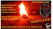 FELIZ PASCUA DE RESURRECCIÓN. Publicado por Salesianos Cooperadores Badajoz . felicitacion pascua