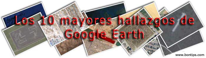 Top 10 Google Earth Finds