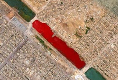 River of blood or pollution?
