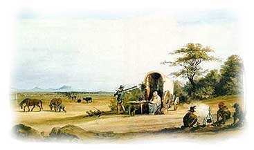 Trek of a Boer family