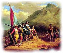 Arrival of Jan van Riebeeck
