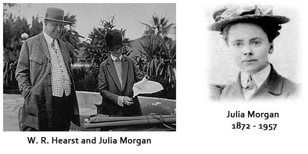 Julia Morgan and W.R. Hearst