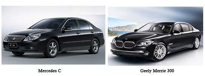 BMW versus byd