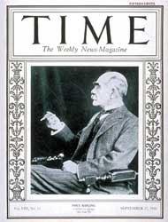 Kipling Time cover 1926