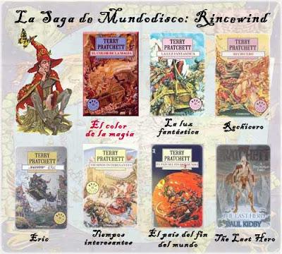 Rincewind novels