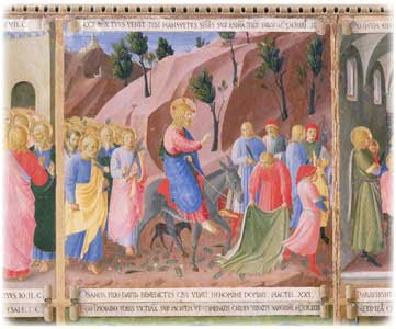 Entry Into Jerusalem by Fra Angelico
