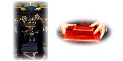 entrega premio Nobel