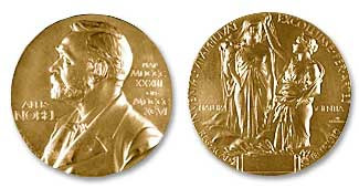 Nobel medal in Physics -Chemistry