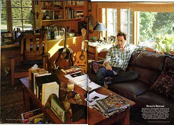 Bruce Springsteen's study