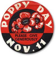 Poppy Appeal badge