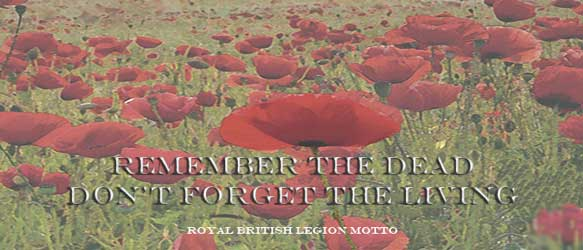 Remember the dead; Don't forget the living