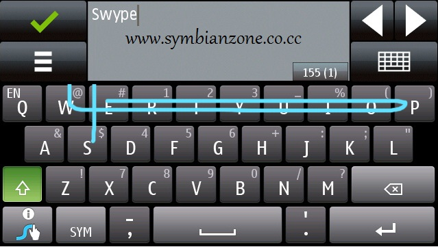 Swype - An Innovative Text Input System for Symbian OS 9.4 S60v5 - Introduced by Swype Inc. and Nokia - Nokia Beta Labs App Download