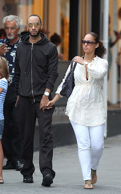 Alicia Keys ,Swizz Beatz, married couple