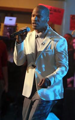 Jamie Foxx, singer