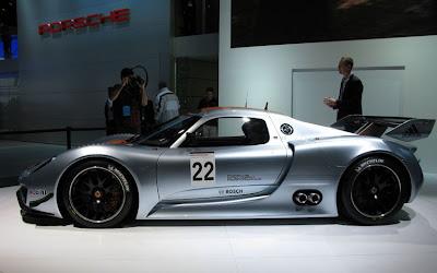 Porsche 918 RSR Hybrid, new technology
