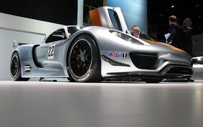 Porsche 918 RSR Hybrid, new technology