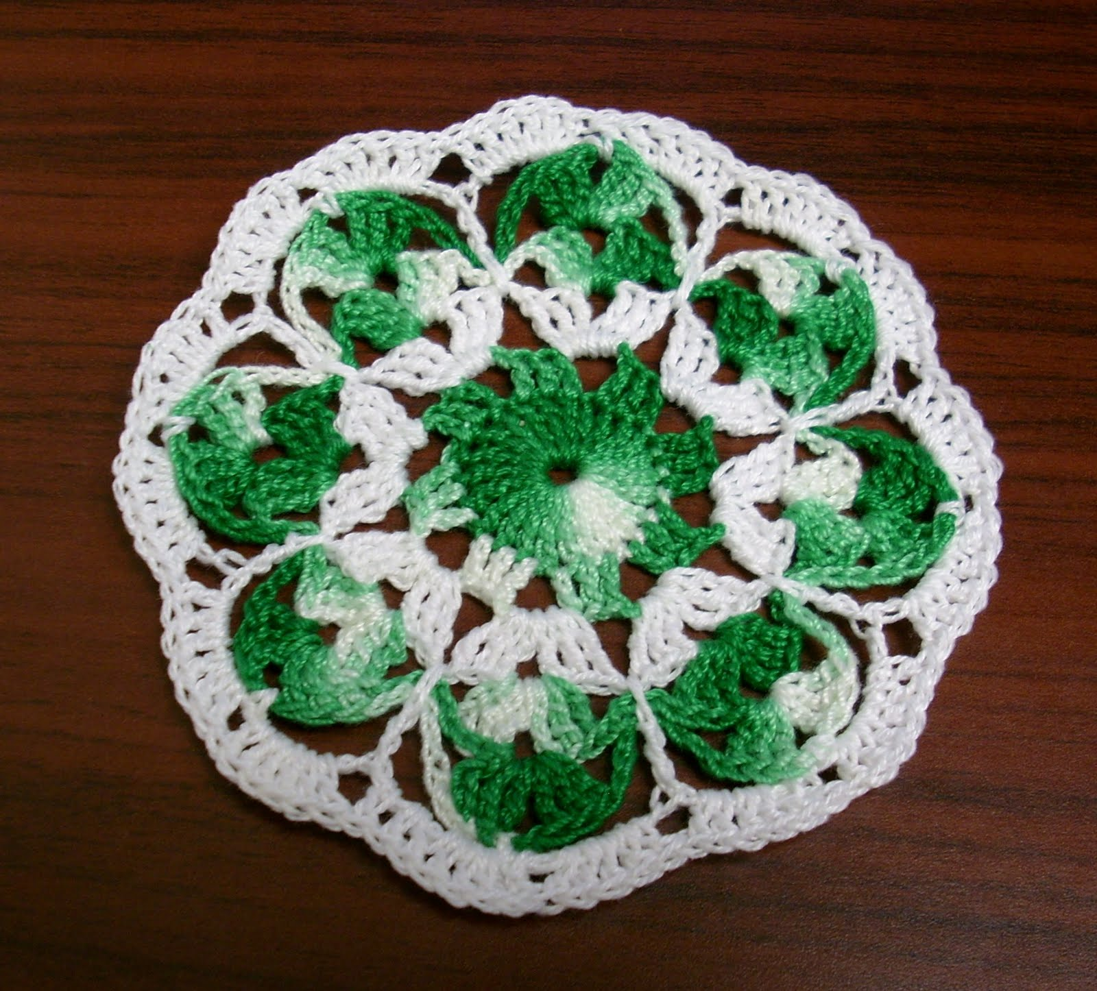 Sole Dominion: Crochet Coasters