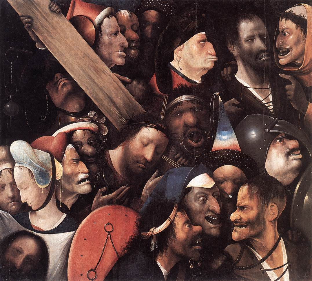 Nature S Not As Kind As Books Hieronymus Bosch Christ Carrying
