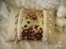 Daphne Nicole Pillow available at Laurie Anna&#39;s Vintage Home