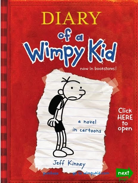 diary of a wimpy kid online book pdf