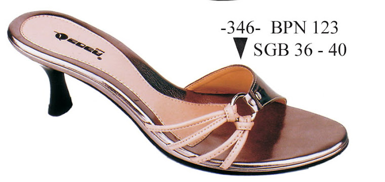 Sandal Cewek Kulit 346B