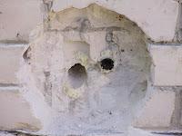 Углубление для монтажа в стене