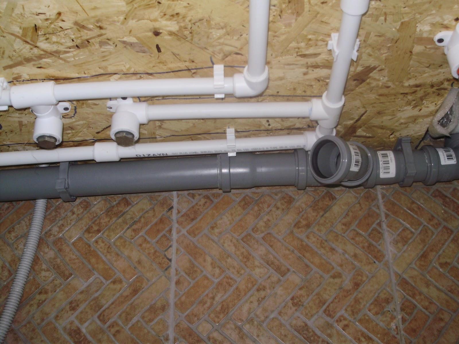 Монтаж труб канализационных пвх труб своими руками