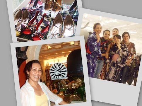 Participação evento Ateliê Adriana Barra - Nov/2008 com salão Pretty Nails