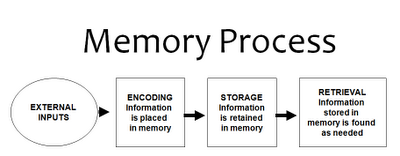 Encoding Storage And Retrieval In Memory