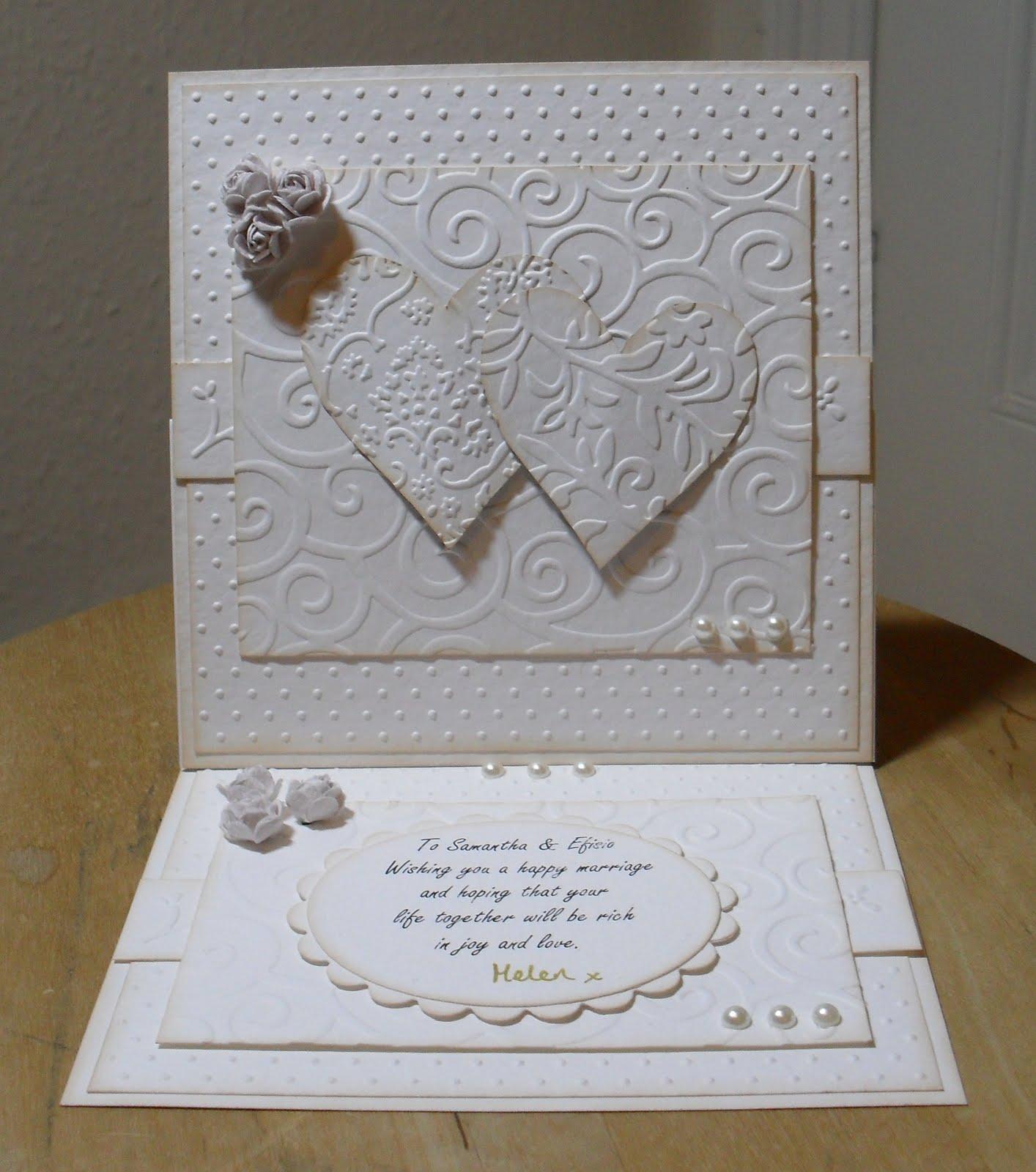 Helens Craft Haven Wedding Wishes